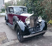 1937 Rolls Royce Phantom in Swansea