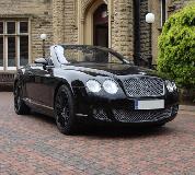Bentley Continental Hire in Swansea