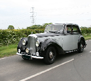 Bentley MK VI Hire in Swansea