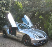 Mercedes Mclaren SLR Hire in Swansea