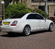 Mercedes S Class Hire in Swansea