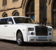 Rolls Royce Phantom Limo in Swansea