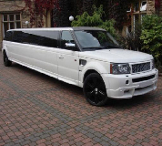 Range Rover Limo in Swansea