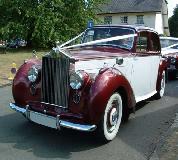 Regal Lady - Rolls Royce Silver Dawn Hire in Swansea