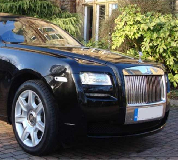 Rolls Royce Ghost - Black Hire in Swansea