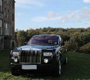 Rolls Royce Phantom - Black Hire in Swansea