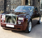 Rolls Royce Phantom - Royal Burgundy Hire in Swansea