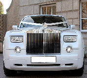 Rolls Royce Phantom - White hire  in Swansea