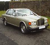 Rolls Royce Silver Spirit Hire in Swansea