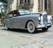 Silver Lady - Bentley Hire in Swansea